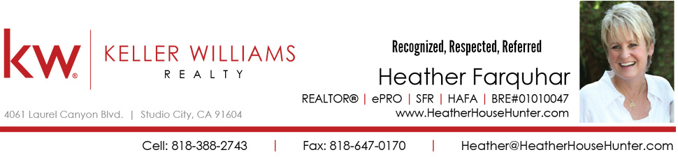 Heather Farquhar, Realtor - Chandler Park Village Sherman Oaks